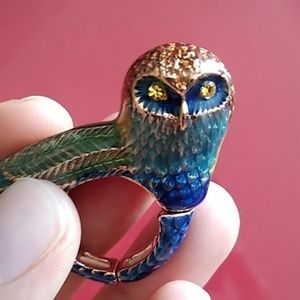 RACHEL Rachel Roy Jewelry - Owl statement ring